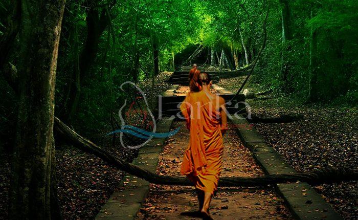 Arankele Forest Monastery, Sri Lanka