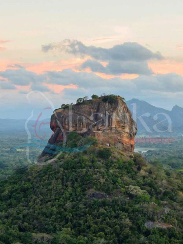 The historical Sigiriya rock fortress, Sri Lanka