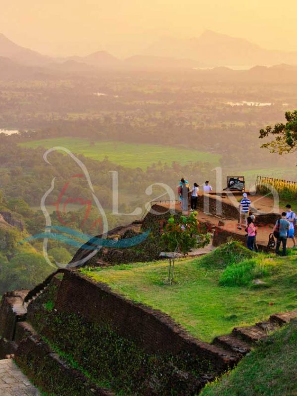 Sigiriya Sun Set Sri Lanka